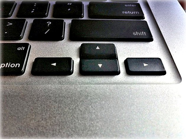 State the function of each of the following computer keyboard keys when using a word processor: