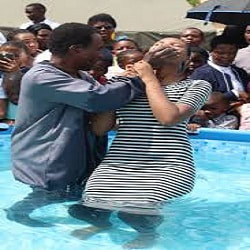 Relevance and Reasons of Baptism to Christians today