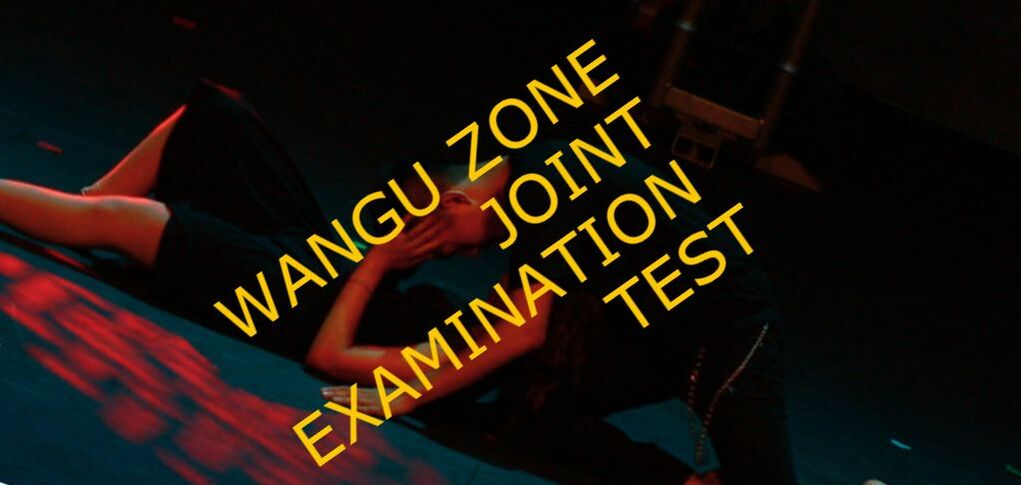WANGU ZONE JOINT EXAMINATION TEST