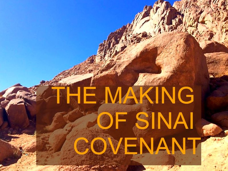 THE MAKING OF THE SINAI COVENANT